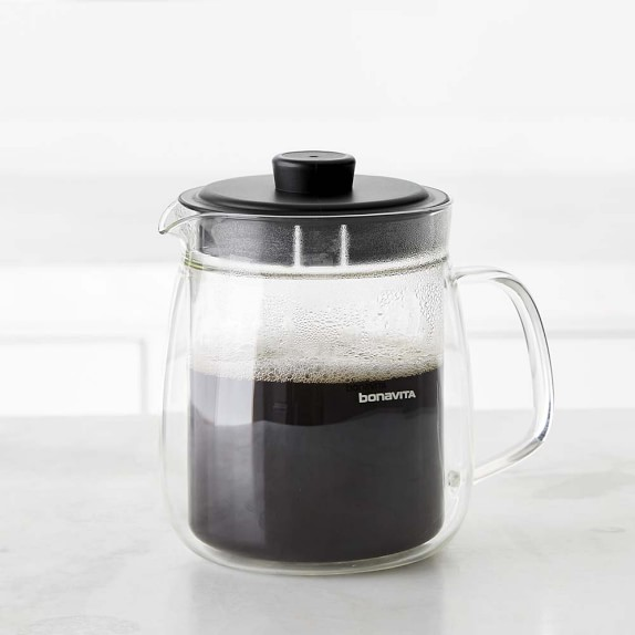 Bonavita 8-Cup Double Walled Glass Carafe for Digital Coffee Brewer Williams Sonoma