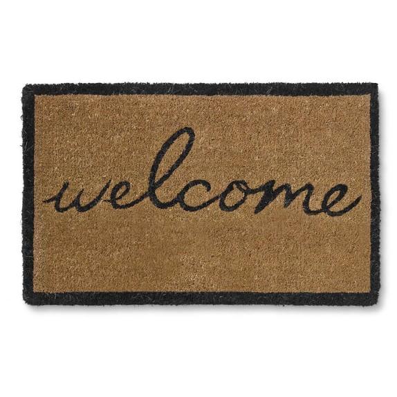Welcome Doormat, Black