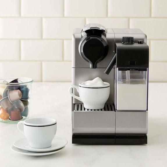 Nespresso Delonghi Lattissima Touch Espresso Maker, Silver