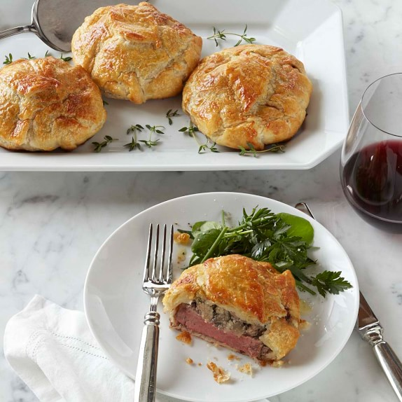 Individual Beef Wellingtons, Set of 4