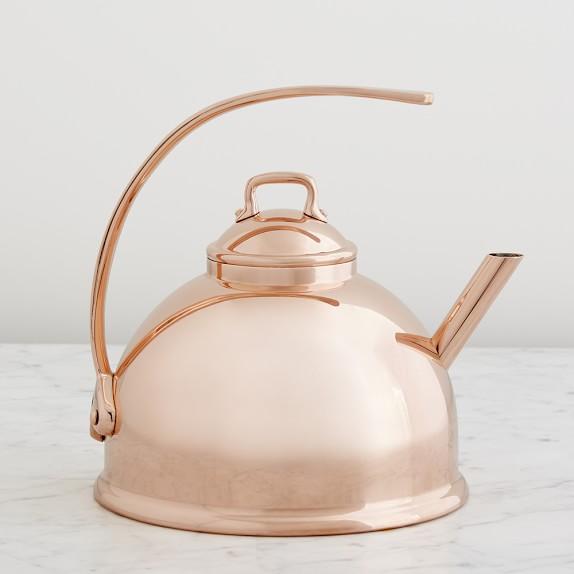 Mauviel Teakettle, Copper