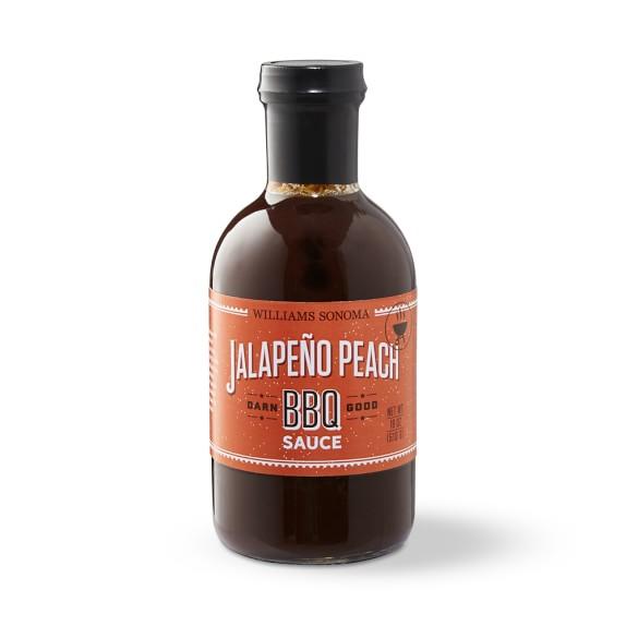 Williams Sonoma BBQ Sauce, Jalapeno Peach