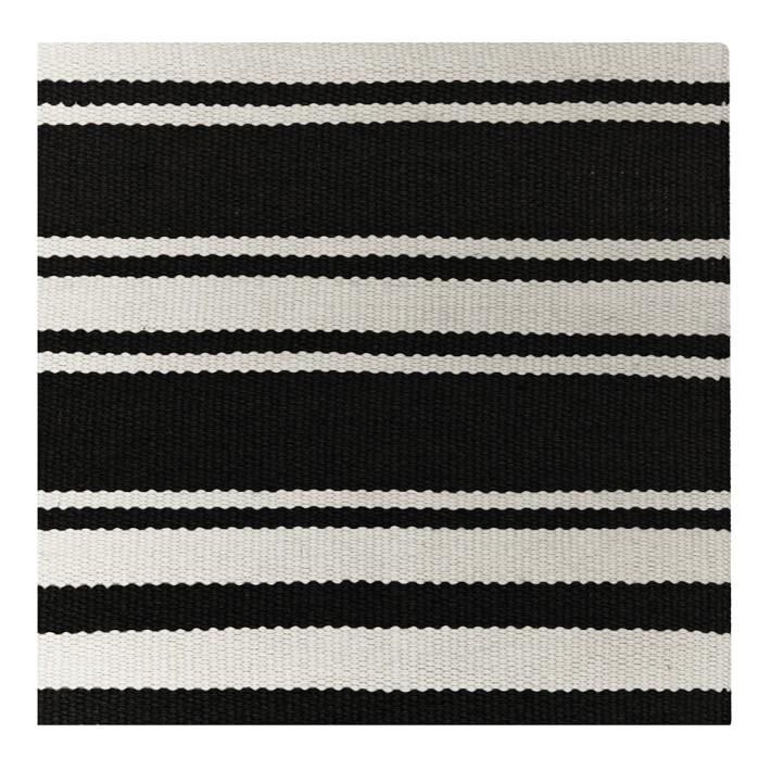 Black and white stripe outdoor rug roselawnlutheran - Black white striped carpet ...