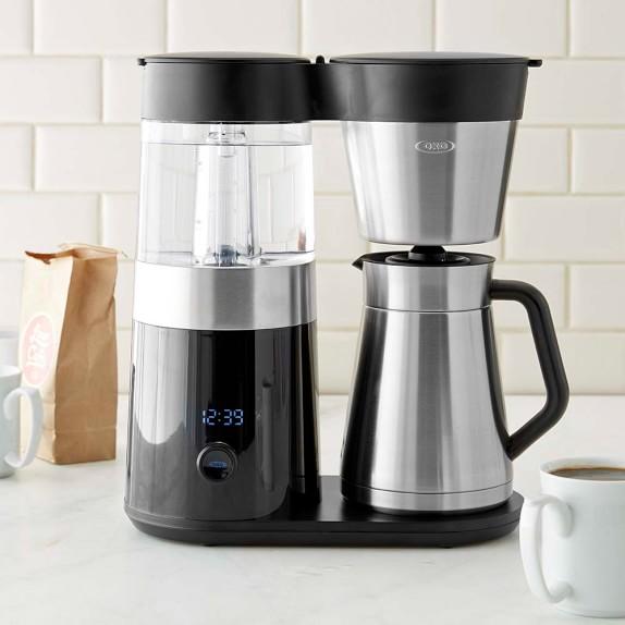 oxo on barista brain 9 cup coffee maker williams sonoma. Black Bedroom Furniture Sets. Home Design Ideas