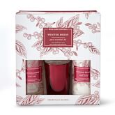 Williams Sonoma Winter Berry Guest Set