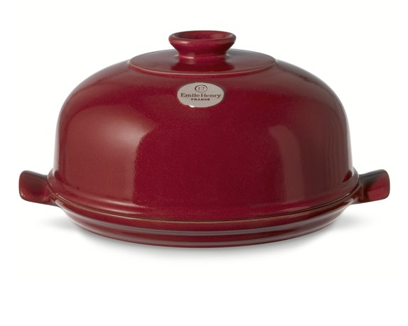 Emile Henry Bread Cloche, Red