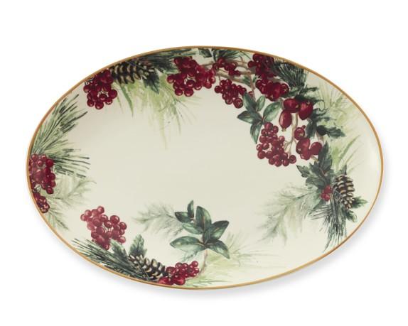 Botanical Wreath Platter