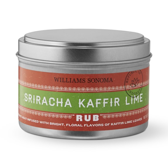 Williams Sonoma Sriracha Kaffir Lime Rub