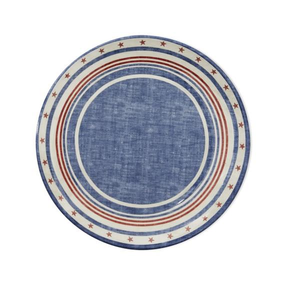 Americana Melamine Salad Plate, Set of 4