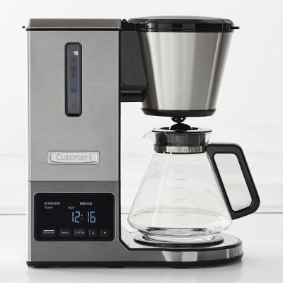 Cuisinart Coffee Maker Spills Over : Cuisinart PurePrecision Pour Over Glass Coffee Maker Williams Sonoma