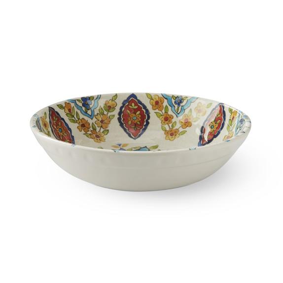 Iznik Tile Melamine Bowls, Set of 4