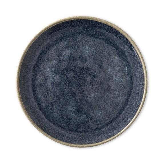 Stoneridge Melamine Salad Plates, Set of 4, Navy