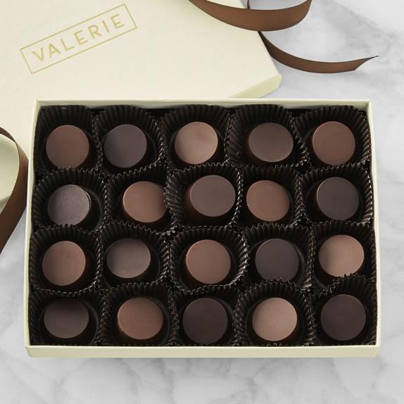 Valerie Confections Scotch & Stout Truffles, 20-Piece Set