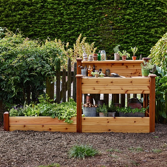 Gronomics Potting Bench with Planter