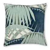 Rousseau Velvet Applique Pillow Cover, 20