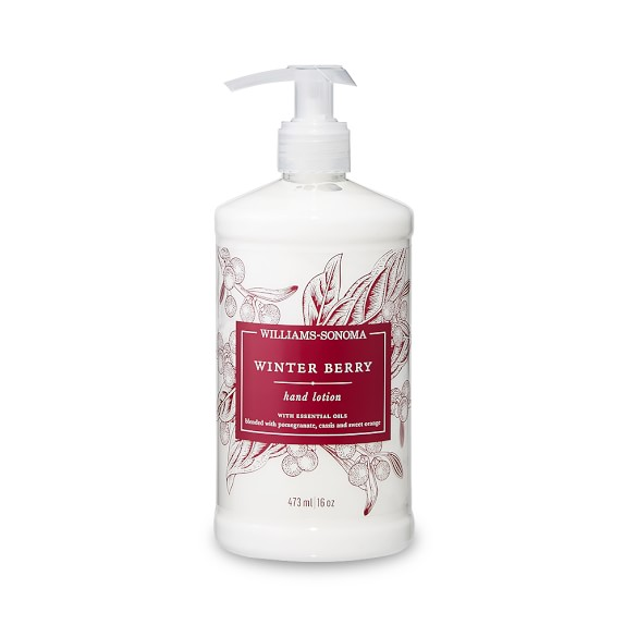 Williams Sonoma Winter Berry Hand Lotion, 16oz.