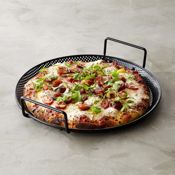 High Heat Nonstick Pizza Pan, Black