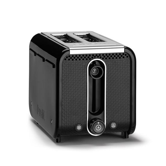 Dualit Studio Two Slice Toaster, Black