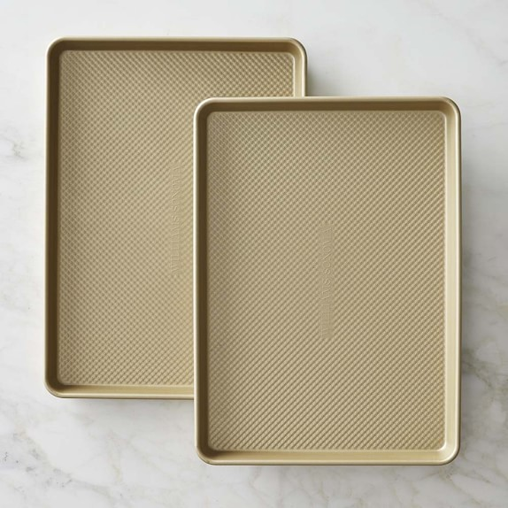 Williams Sonoma Goldtouch® Nonstick Half Sheet Pan, Set of 2
