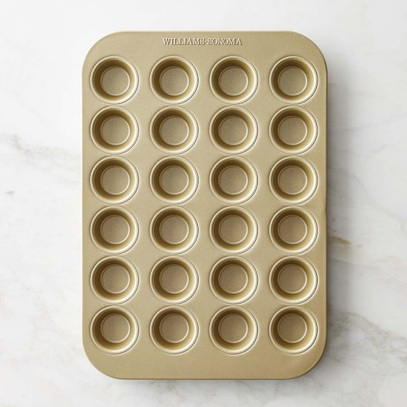 Williams Sonoma Goldtouch® Nonstick Mini Muffin Pan, 24-Well