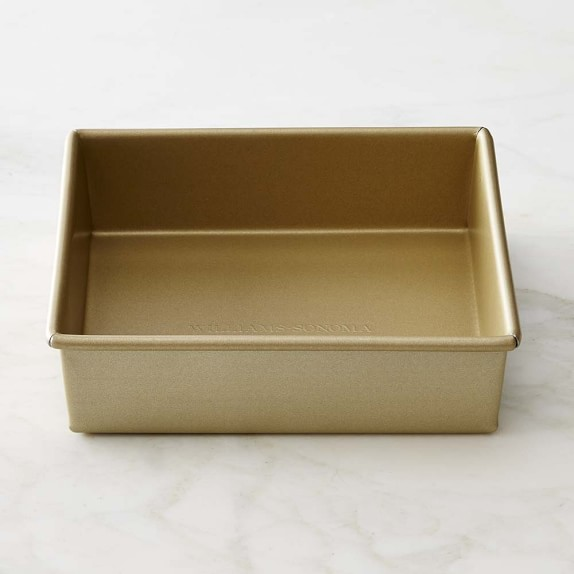 Williams Sonoma Goldtouch® Nonstick Square Cake Pan, 8""