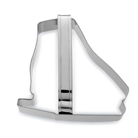 Ice-Skate Stainless-Steel Cookie Cutter