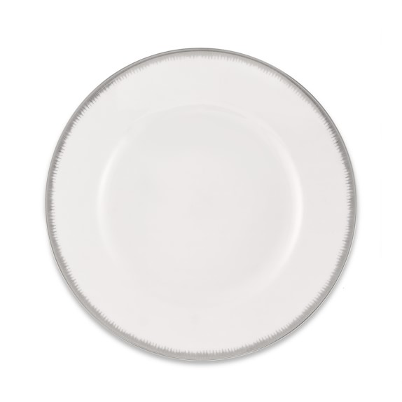 Williams Sonoma Wedgwood Silver Aster Salad Plate