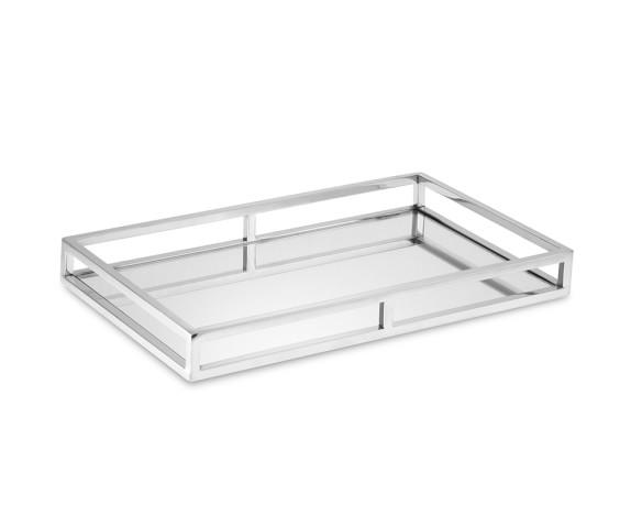 Silver bar tray