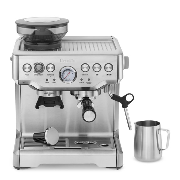 Breville Barista Express Espresso Maker Williams Sonoma