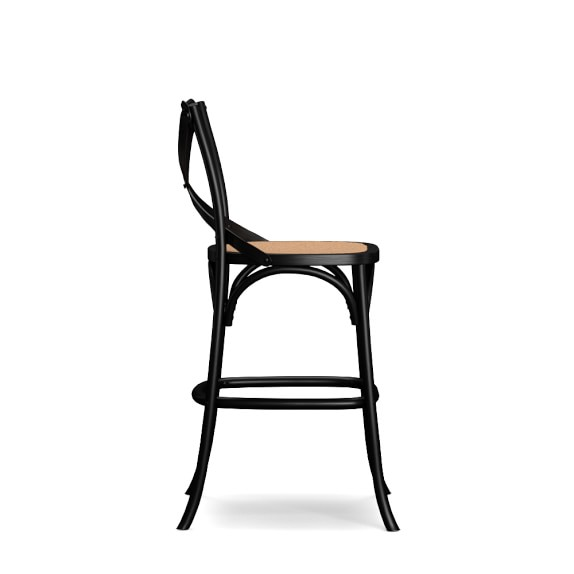 Bistro Counter Stool – Black Bistro Chair