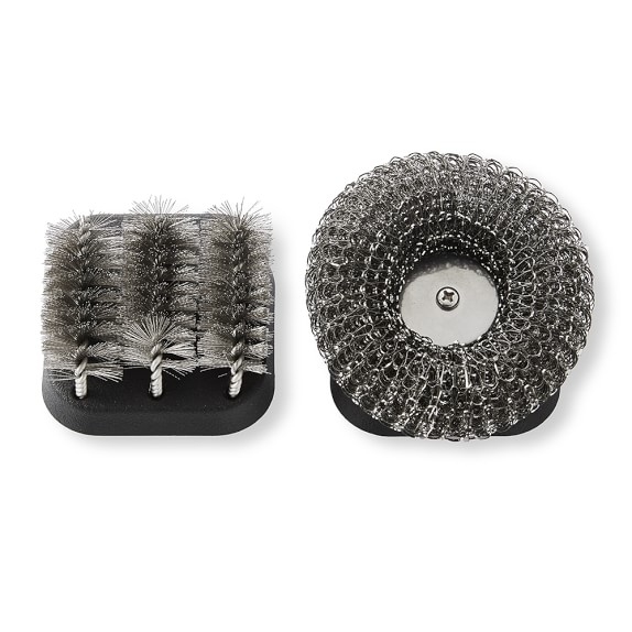 Williams Sonoma Grill Cleaning Brush Replacement Heads, Set of 2