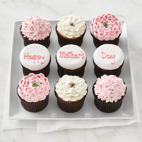 Mother's Day Cupcakes, Set of 9