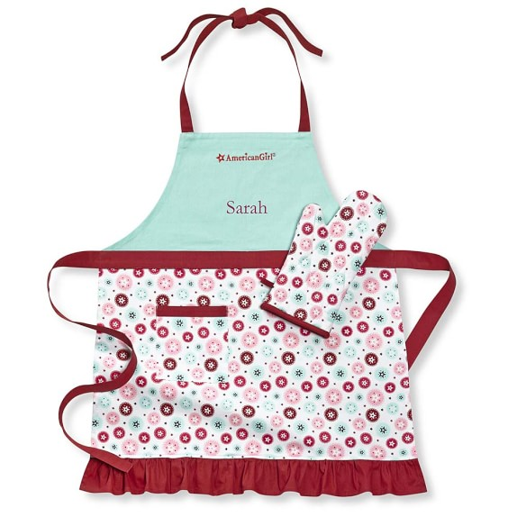 American Girl™ by Williams Sonoma Adult Apron & Mitt