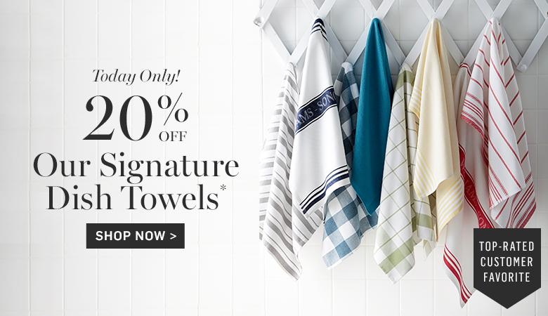 20% Off Dish Towels