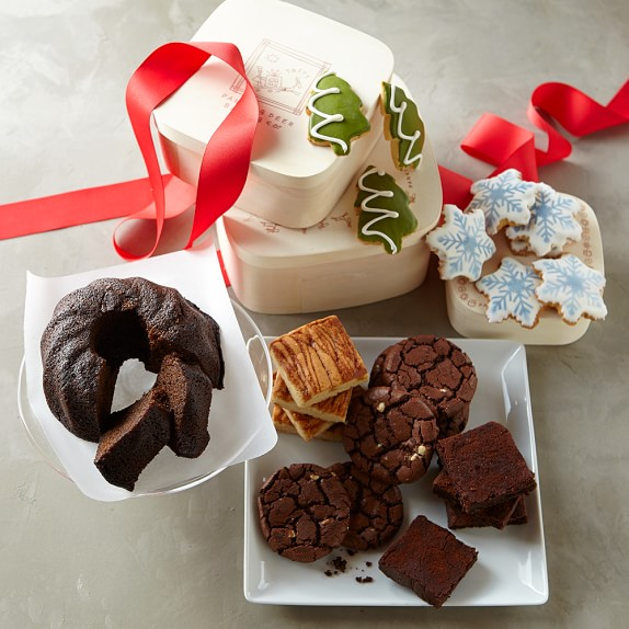 Holiday Cookie & Brownie Gift Tower, Immediate Delivery