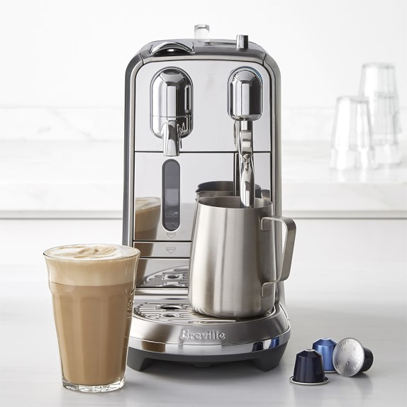 Nespresso Breville Creatista Plus Espresso Maker, Silver