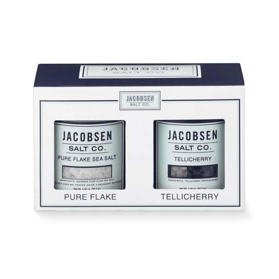 Jacobsen Salt Co. Flake Salt & Black Pepper Duo