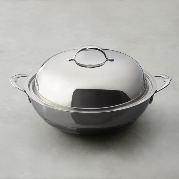 Hestan Nanobond™ Stainless-Steel Wok with Lid