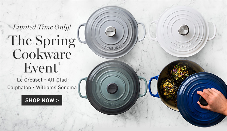 The Spring Cookware Event