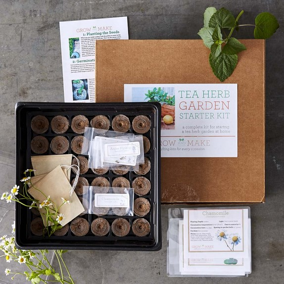 Tea Herbs Garden Kit Williams Sonoma