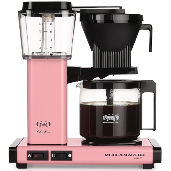 Technivorm Moccamaster Coffee Maker with Glass Carafe, Pink