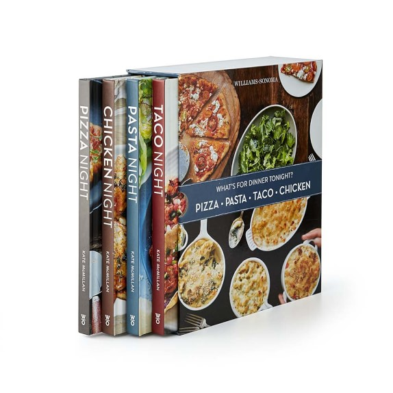 Williams Sonoma What's for Dinner Cookbook Boxed Set
