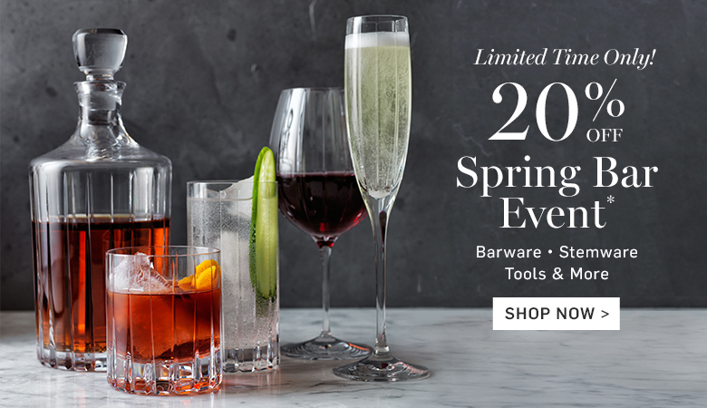 20% Off Spring Bar Event