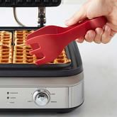 Williams Sonoma Ultimate Silicone Waffle Tongs, Red