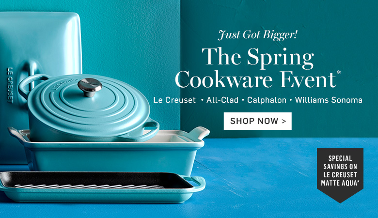 Special Saving on Le Creuset Matte Aqua