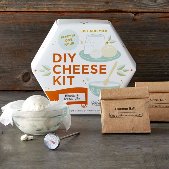 DIY Mozzarella & Ricotta Cheese Making Kit