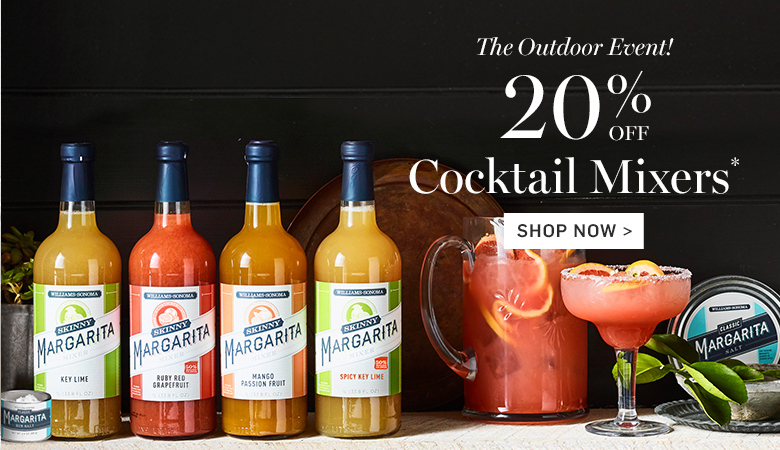 20% Off Cocktail Mixers