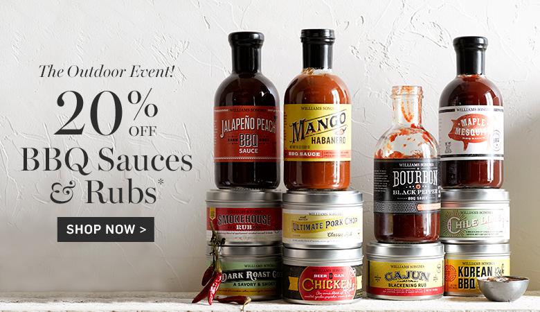 20% Off BBQ Sauces & Rubs