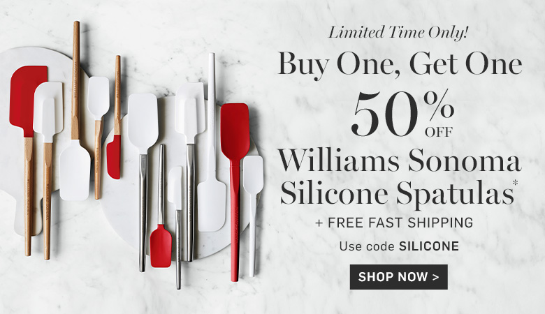 Buy One, Get One 50% Off Silicone Spatulas