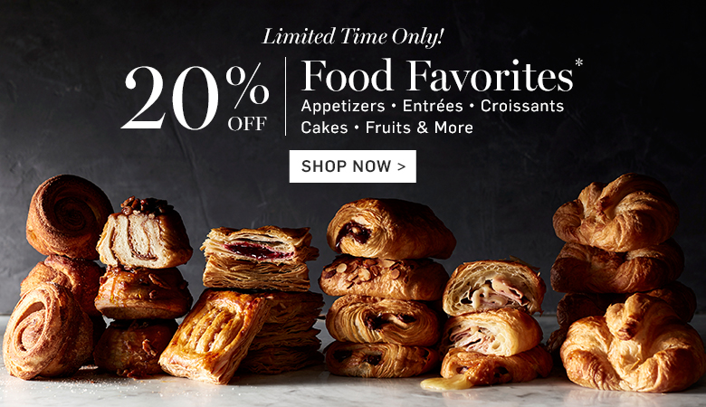 20% Off Food Favorites